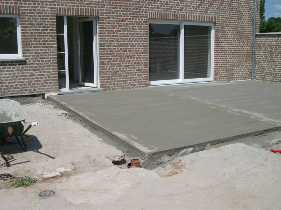 Terrasse extrieure amenagement de terrasse exterieure on - Dosage beton pour terrasse ...
