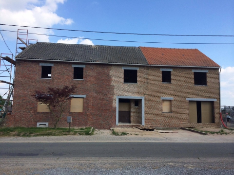Entreprise de r novation de fa ades en r gion wallonne for Entreprise renovation facade